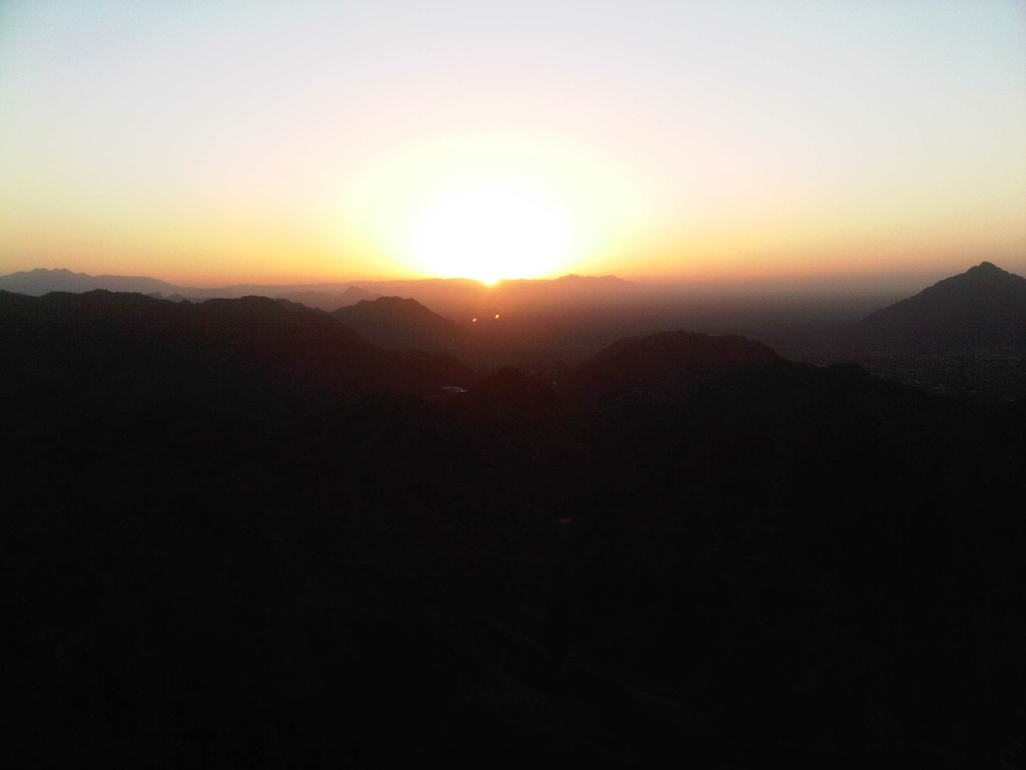 Dawn from Squaw Peak